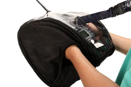 Waterproof transmitter bag